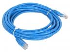 Патч-корд литой Aopen/ Qust UTP кат. 5е 5м синий <ANP511_5M_B>