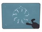 """Теплоотводящая подставка под ноутбук DeepCool N2 (до 17"""",  180x15мм вентилятор,  Kawaii Style)"""