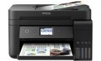 МФУ EPSON L6190 Принтер/ сканер/ копир. A4. Фабрика Печати. Цветной. Wi-Fi. ЖК дисплей.