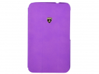 Чехол-книжка для G-Tab 3 8.0 Lamborghini Diablo Smart Cover Violet флип, кожа