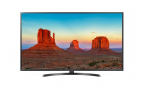 "Телевизор LG 49UK6450 LED 49"" Black, Smart TV, 16:9, 3840x2160, USB, HDMI, Wi-Fi, RJ-45, DVB-T, T2, C, S, S2"