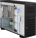 Корпус Supermicro CSE-745TQ-R800B Tower/ 4U, up 8x3.5 Hot Plug SAS/ SATA, 3x5.25 External, PS 2x800W (RPS), E-ATX, Bezel