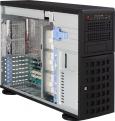 Корпус Supermicro CSE-745TQ-R800B Tower/ 4U,  up 8x3. 5 Hot Plug SAS/ SATA,  3x5. 25 External,  PS 2x800W (RPS),  E-ATX,  Bezel