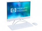 "Моноблок HP 24 24-f0049ur 4GW65EA i7-8700T/ 16Gb/ 1TB+256GB SSD/ no DVD/ 23.8"" (1920x1080) Touch/ GT MX110 2GB/ WiFi/ KB+mouse/ Win10/ Snow White"