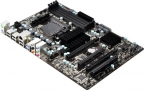 Материнская плата ASRock 970 PRO3 R2.0 (SAM3+, AMD 970 + SB950, 4*DDR3, 2*PCI-E16x, SATA RAID, SATA III, GB Lan, ATX, Retail))