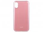 Чехол Moshi iGlaze для iPhone X. Сделан из ударопрочного пластика. Цвет: розовый.