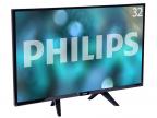 "Телевизор Philips 32PHS4132/ 60 LED 32"" Black, noSmart TV, 16:9, 1366х768, 280 кд/ м2, USB, HDMI, DVB-T, T2, C, S, S2"
