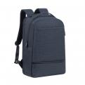 """Рюкзак для ноутбука 17. 3"""" Riva 8365 полиэстер черный"""