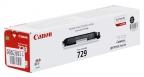 Картридж Canon 729 BK для i-SENSYS LBP7010C и LBP7018C. Чёрный. 1200 страниц.