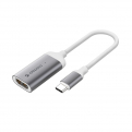 Переходник USB Type-C - HDMI Deppa 73120 графит