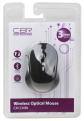 Мышь CBR CM-530 Bluetooth Black Оптика, 800/ 1200/ 1600dpi, 2 доп.кл., софттач, мини