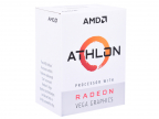 Процессор AMD Athlon 200GE BOX Radeon Vega Graphics 35W,  2C/ 4T,  3. 2Gh(Max),  5MB(L2+L3),  AM4 (YD200GC6FBBOX)