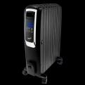 Масляный обогреватель UNIT UOR-993,  Цвет: Черный; 2000Вт,  Закрытый,  Управление - Сенсорный LCD дисплей,  цифровой термостат,  пульт д. у.