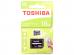 Карта памяти MicroSDHC 16GB Toshiba Class 10 M203 + adapter