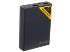 Внешний аккумулятор Hiper RP10000 Black, 10000mAh, 2xUSB 2.1A, Li-Ion, индикатор заряда