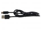 Кабель USB Type C-USB Ritmix RCC-330 Black для синхронизации/ зарядки, 1м, блистер