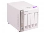 Сетевой накопитель QNAP TS-431P Сетевой RAID-накопитель,  4 отсека для HDD.  Двухъядерный Freescale ARM Cortex-A9 1, 2 ГГц
