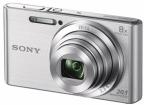 """Фотоаппарат SONY DSC-W830S Silver (20Mp,  8x zoom,  2. 7"""",  SDXC,  720P) [DSCW830B. RU3]"""