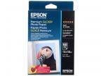 C13S041875 Бумага EPSON Premium Glossy Photo Paper (13x18см, 50 листов, 255 г/ м2)