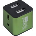 Концентратор USB 2.0 Defender QUADRO IRON (4 порта, металл)