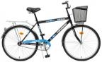 Велосипед Top Gear Delta 50 диаметр колес: 26 дюймов,  размер рамы: 21 дюйм,  черн/ син.  ВН26247