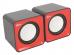 Колонки Ritmix SP-2020 61000571 2.0 Black/Red