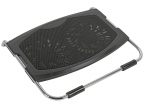 "Теплоотводящая подставка под ноутбук DEEPCOOL N2000 IV (до15. 6"",  2x140мм вентилятор,  черный,  резин. вставки,  2 USB)"