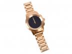 Гибридные смарт часы MyKronoz ZeTime Elite Petite мозаичный металлический ремешок цвет желтое золото