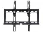 "Кронштейн Kromax IDEAL-4 Black для LED/ LCD/  TV 22""-65"" , max 50 кг, настенный, 1 ст свободы, наклон 0°-15°, от стены 28 мм, max VESA 400x400 мм"