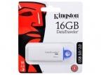 USB флешка Kingston DataTraveler DTIG4 16GB White (DTIG4/ 16GB) USB 3. 0 /  40 МБ/ cек /  10 МБ/ cек