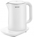Чайник Kitfort КТ-629-1 белый 1800 Вт 1,5 л