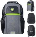 Городской рюкзак с рельефной спинкой Action! AB11124 21 л черный серый