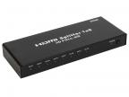 Разветвитель HDMI Splitter 1 to 8 VCOM <VDS8048D> \DD418A 3D Full-HD 1. 4v,  каскадируемый HDP108