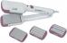 Выпрямитель волос FIRST AUSTRIA FA-5670-1-PI, 25 Вт., 4 вида пластин, световой индикатор, белый/розовый
