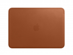 "Чехол для ноутбука MacBook Air 12"" Apple Leather Sleeve коричневый MQG12ZM/ A"