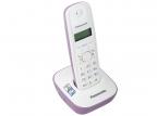 Телефон DECT Panasonic KX-TG1611RUF АОН, Caller ID 50, 12 мелодий