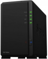 Сетевой накопитель Synology DS218play 1,4GhzCPU/ 1Gb/ RAID0,1/ up to 2hot plug HDDs SATA(3,5'')/ 2xUSB3.0/ 1GigEth/ iSCSI/ 2xIPcam(upto15)/ 1xPS