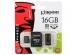 Карта памяти MicroSDHC 16GB Kingston Class 4 + адаптер, ридер (MBLY4G2/16GB)