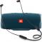 Портативная акустика JBL Charge 4 + наушники T110BT синий