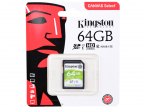 Флеш карта SDXC 64Gb Class10 Kingston SDS/ 64GB Canvas Select w/ o adapter