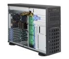 Корпус Supermicro CSE-745TQ-R920B Tower/ 4U,  up 8x3. 5 Hot Plug SAS/ SATA,  3x5. 25 External,  PS 2x920W (RPS),  E-ATX,  Bezel