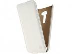 Чехол-книжка для ASUS Zenfone 2 ZE551ML PULSAR SHELLCASE White флип, искусственная кожа