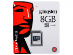 Карта памяти MicroSDHC 8GB Kingston Class4 Без адаптера (SDC4/ 8GBSP)