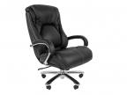 Офисное кресло Chairman 402 кожа черная