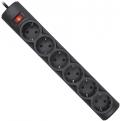 Сетевой фильтр Defender DFS 151 черный 1. 8 м 6 розеток
