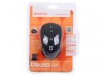 Мышь Defender Dacota MS-155 Nano B(Черный) 2кн+кл, 1000/ 1500/ 2000 dpi