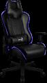 Кресло для геймера Aerocool AC220 RGB-B ,  черное,  с перфорацией,  с RGB подсветкой,  до 150 кг,  размер,  см (ШхГхВ) : 66х63х125/ 133.