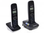 Телефон DECT Panasonic KX-TG1612RU1 АОН, Caller ID 50, 12 мелодий, + дополнительная трубка