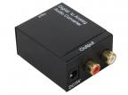 Аудио декодер ORIENT DAC0202,  аудио декодер 2. 0,  преобразование цифрового аудио сигнала в аналоговый стерео,  входы: 2x опт. Toslink/ 1x коакс. RCA,  выход