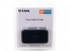 Концентратор USB D-Link DUB-H7/ B/ C1B Компактный концентратор с 7 портами USB 2.0